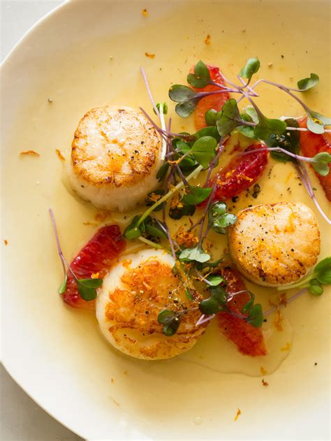 seared scallops citrus seared scallops