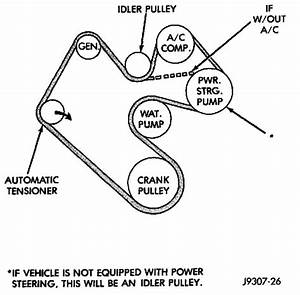 2005 Dodge Ram 1500 47 Serpentine Belt Diagram