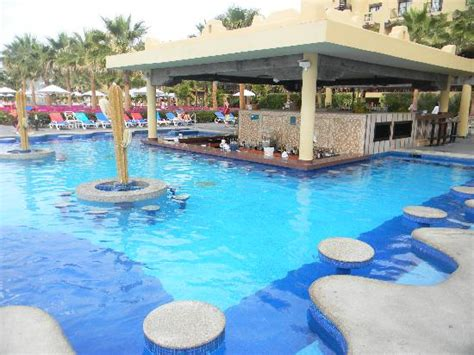 Bar Pool by One Of The Pool Bars Picture Of Hotel Riu Santa Fe Cabo