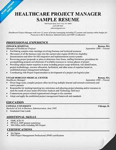 healthcare project manager resume example http With healthcare management resume sample