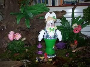 Creation Avec Des Pots De Fleurs : personnages en pots de fleurs personnages en pots de ~ Melissatoandfro.com Idées de Décoration