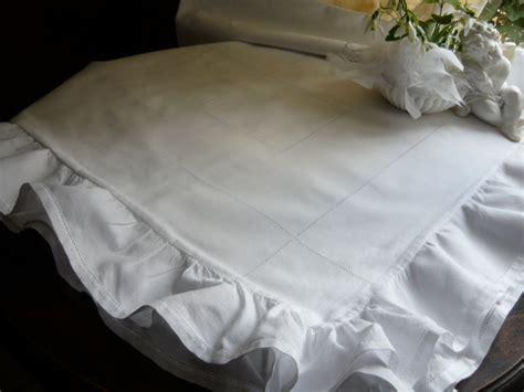 linge de maison ancien linge ancien antiquit 233 s mercerie ancienne au souffle d antan linge de maison linge de lit