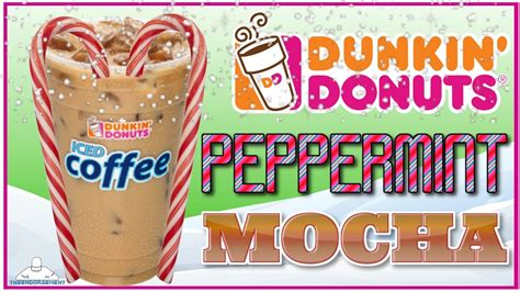 Try the delicious, ready to drink iced coffee and milk beverages in mocha, french vanilla, espresso or original. DUNKIN DONUTS® | PEPPERMINT MOCHA ICED COFFEE REVIEW | THEENDORSEMENT - YouTube