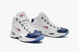 Sneakersnstuff: Release info: Reebok Question Mid White/Blue  Mid