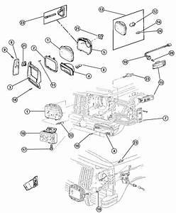 2001 Jeep Cherokee Module  Headlamp Delay  Relay  Headlamp