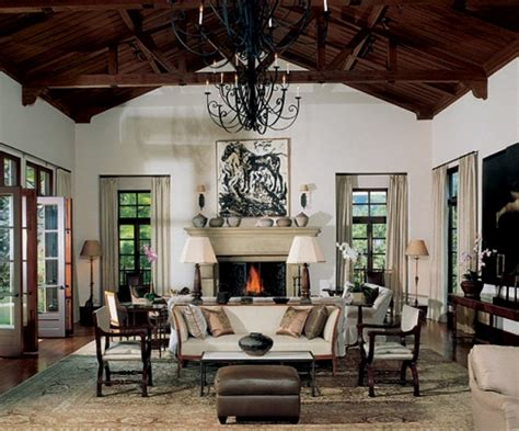 home interior design spanish revival