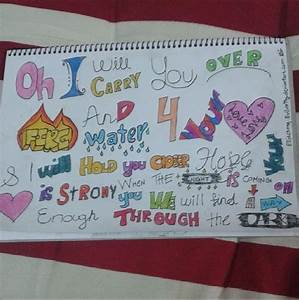 One Direction Through the Dark Lyrics Fanart by Evilcatty ...