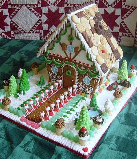 gingerbread house roof ideas alrighty this is my goal for this years gingerbread house making event ha michelle flynn