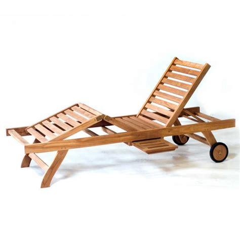 chaise longue en teck transat bain de soleil en teck pas cher chaise longue