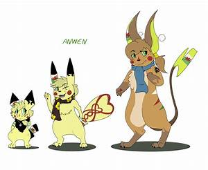 Anwen Evolution Chart by Willow-Wyvern on DeviantArt