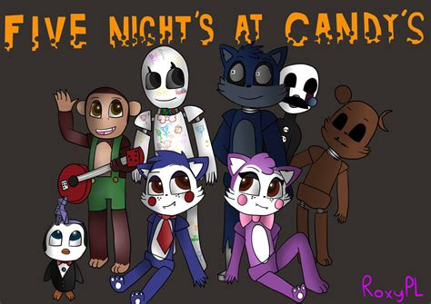 Five Nights At Candy's By Roxypl.deviantart.com On