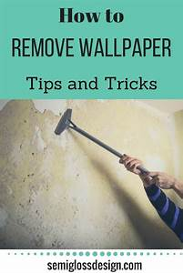 Wallpaper Removal (Tips to Make It Easier)