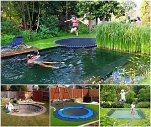 In Ground Trampolin : 25 best ideas about sunken trampoline on pinterest garden trampoline trampoline house and ~ Orissabook.com Haus und Dekorationen