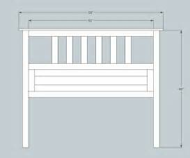 Ana White Headboard Plans by Ana White Full Size Slatted Headboard Diy Projects
