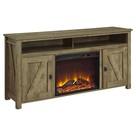 brookside electric fireplace tv console  tvs