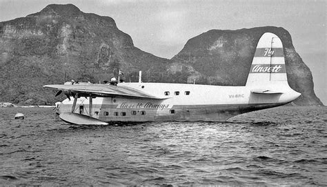 Catalina Flying Boats In Australia by Ansett Airways Flying Boat Services In Australia