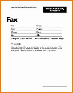Fax cover sheet template google docs best template idea for Google docs front page template
