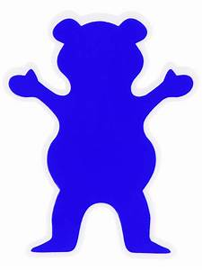 Grizzly Bear Logo Skateboard