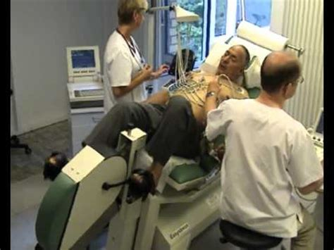 echo test exercise stress echocardiography bed