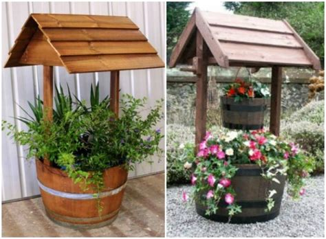 15 Magnificent Wishing Well Garden Decorations That Will