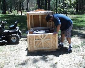 build how to build a wooden generator shed sanki