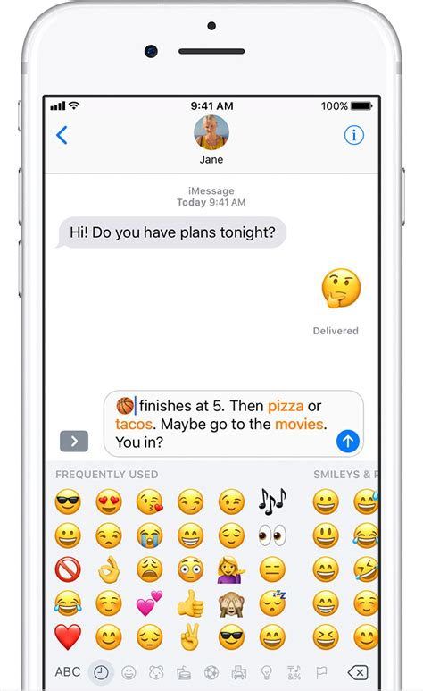 how to make a message on iphone use emoji on your iphone and ipod touch apple support
