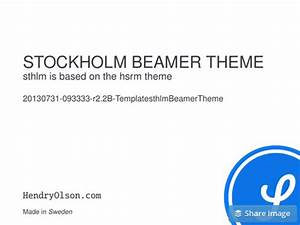 presentations what are the best beamer themes quora With beamer template for powerpoint