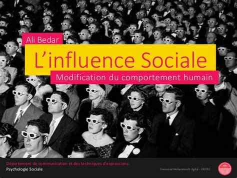 modification si鑒e social l 39 influence sociale modification du comportement humain
