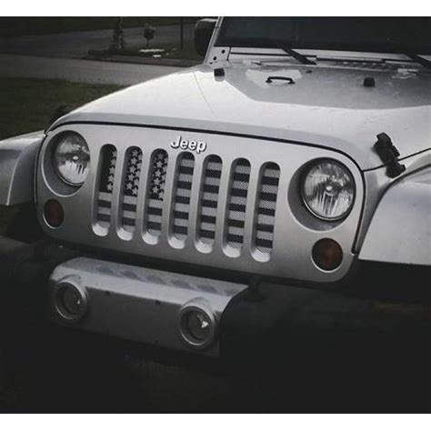american flag jeep grill american flag greyscale jeep grill route one apparel