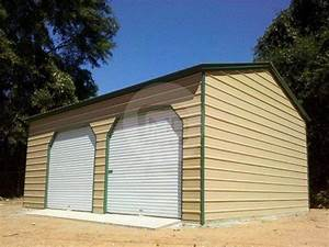 20x26 two car steel garage for sale prefab garage frame With 20x26 garage