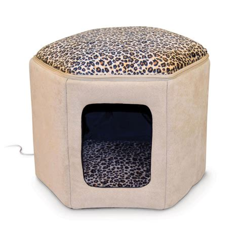 Kh Thermo Heated Cat Bed by K H Thermo Sleep House Heated Cat Bed In And