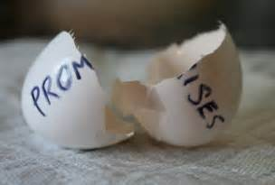 Image result for broken promises