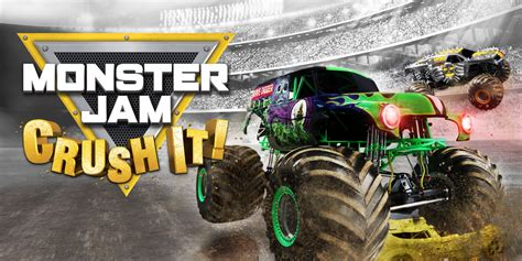 monster jam trucks games monster jam crush it nintendo switch games nintendo