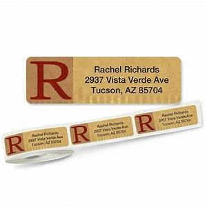 qwerties rolled return address labels colorful images With clear return address labels roll