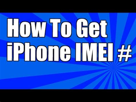 how to find your iphone how to find your iphone s imei number