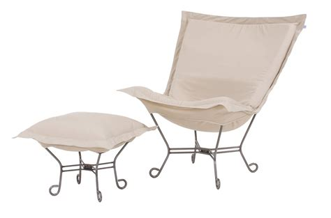 chicago textile puff chair starboard patio