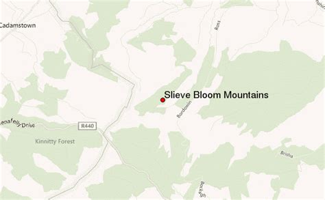 siege bloom slieve bloom mountains mountain information