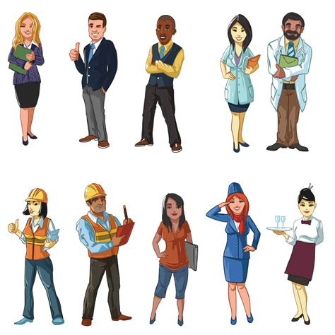 Illustrated Character Sample Pack 03  Elearning Network