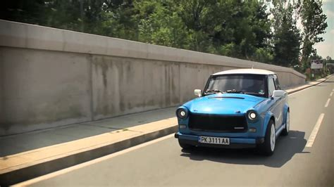 trabant rs europe  tuning car show hd youtube