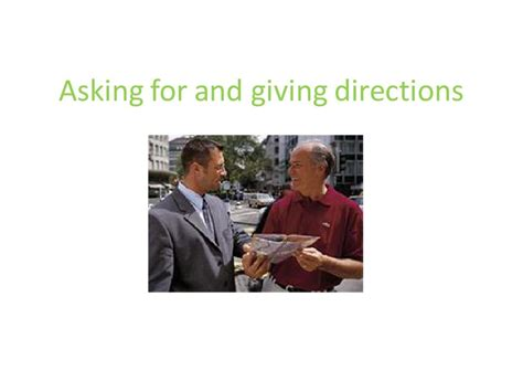 Asking Giving Directions Asking For And Giving Directions问路指路英语教程ppt Word文档在线阅读与下载 无忧文档