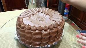 Decoración de Pastel de chocolate (parte 2) - YouTube