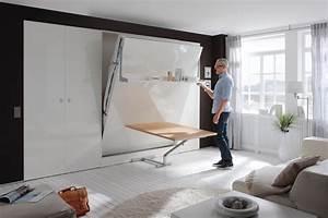 Www Bett 1 De : nehl 2weiraumwunder schrankbett mit tisch m bel letz ihr online shop ~ Bigdaddyawards.com Haus und Dekorationen