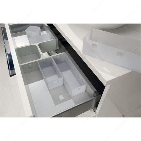 modular kitchen drawer organizers modular organizer for vanity drawers richelieu hardware 7827