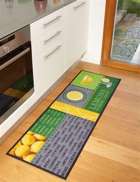 tapis de cuisine tapis de cuisine lemons moderne et de qualité