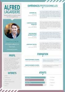 Free Resume Template Word Exemple De Curriculum Vitae Moderne Et Design Mycvfactory