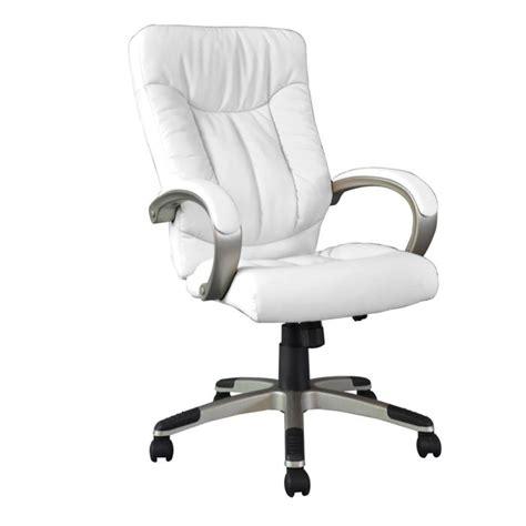 fauteuil de bureau cuir blanc manager fauteuil de bureau blanc grand confort achat