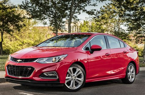 Chevy Reworks The Cruze Sedan For 2016, Giving It New