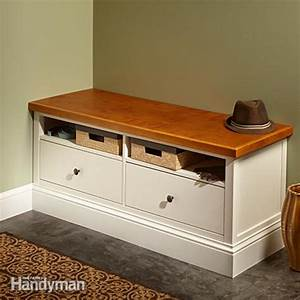 Ikea Hemnes Hack : ikea hemnes hack built in bench the family handyman ~ Indierocktalk.com Haus und Dekorationen