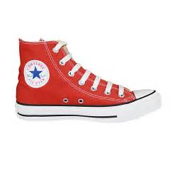 Red Converse Trainers