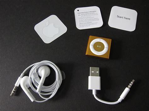 ipod shuffle 4 generation fourth generation ipod shuffle unboxing and comparison